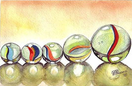 Family of Marbles by Jean-Marie Poisson