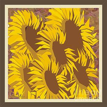 Family of sunflowers by Michael Mirijan