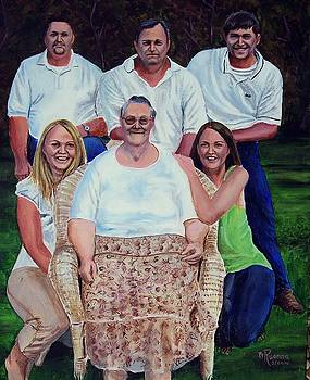 Family Portrait by Ruanna Sion Shadd a'Dann'l Yoder