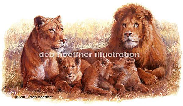Family Pride by Deb Hoeffner