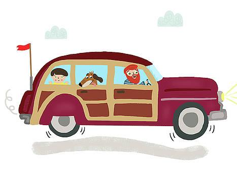 Family Trip by Nicole Wilson