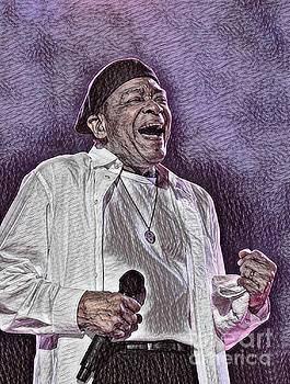 Famous Jazz Singer Al Jarreau by Pd