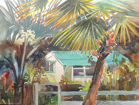 Fan Palm by Diane Renchler
