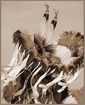 Fancy Dancer in Sepia by Heidi Hermes