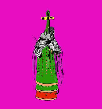 Fanfone green by Enzo Mastrangelo