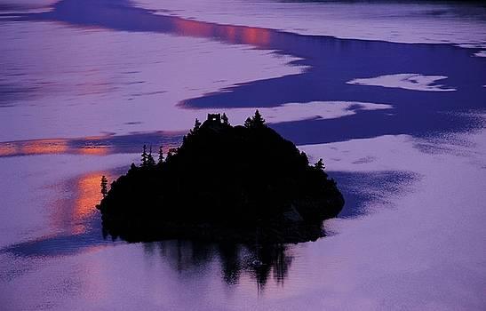 Fannette Island At Dawn by Sean Sarsfield