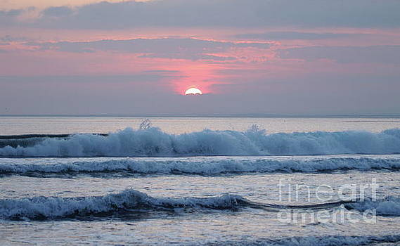Fanore sunset 1 by Peter Skelton