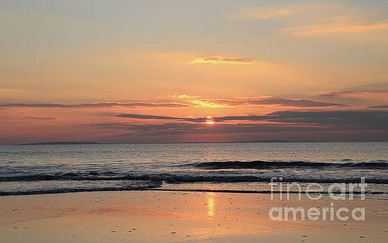 Fanore sunset 3 by Peter Skelton