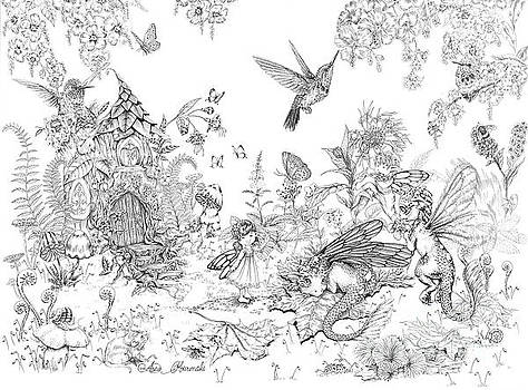 Fantasy land by Anne Koivumaki - Fine Art Anne
