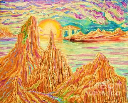 Fantasy Landscape by Kean Butterfield
