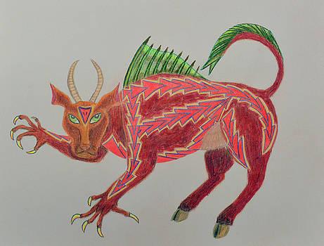 Fantasy Monster by Lisa Von Biela