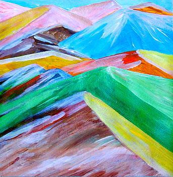 Fantasy mountains Part One by Madina Kanunova