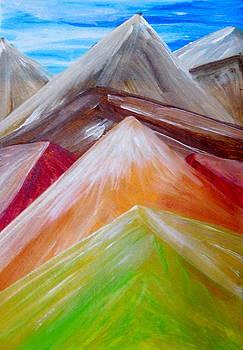 Fantasy mountains Part Two by Madina Kanunova