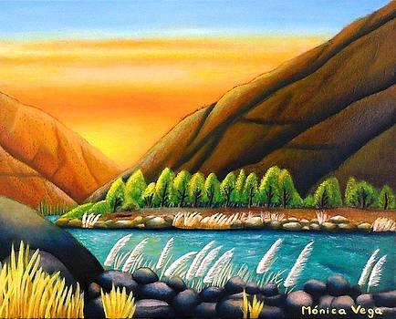 Fantasy of the Elqui Valley by Monica  Vega