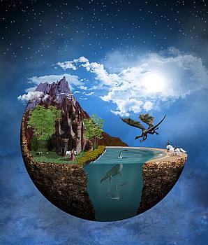 Fantasy Planet 1 by Solomon Barroa