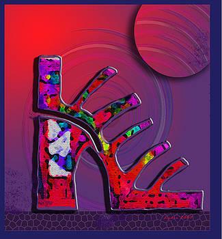 Lydia L Kramer - Fantasy Platform Sandal