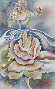 Fantasy Rose by Mary Haley-Rocks