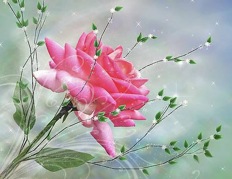 Fantasy Rose by Nina Bradica