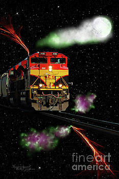 Fantasy Train by Inspirational Photo Creations Audrey Woods