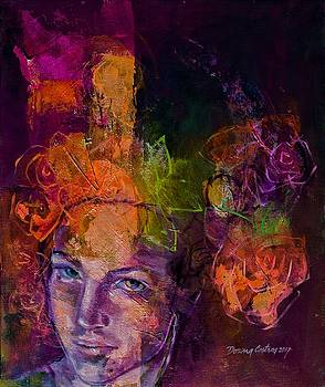 Fantasy With Roses by Dorina Costras