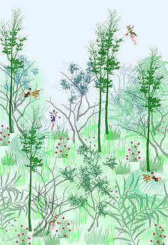 Fantasy Woods by Rosalie Scanlon