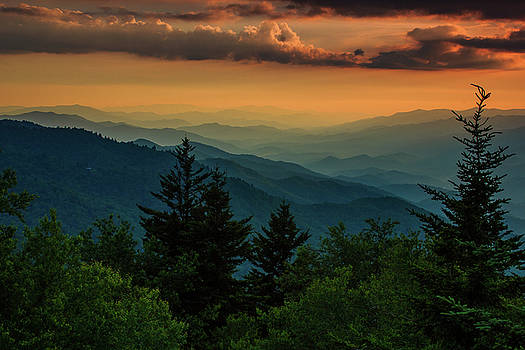 Far as the eye can see by Blue Ridge Mountain Life