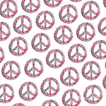 Far Too Pretty Peace Symbols by Nola Lee Kelsey