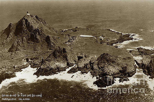 California Views Mr Pat Hathaway Archives - Farallon Island Lighthouse Pacific Ocean April 4, 1924