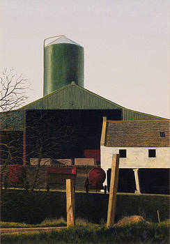Farm Buildings Kinnell by Rodger Insh