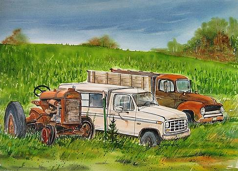 Farm Country Treasures II by Bud Bullivant