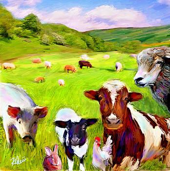 Farm Friends by Karen Derrico