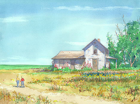 Farm House by Ray Cole