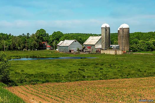 Farm in Scotch Village by Ken Morris