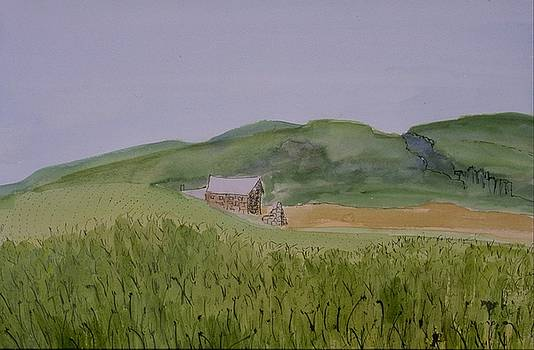 Mary Erbert - Farm in Scotland