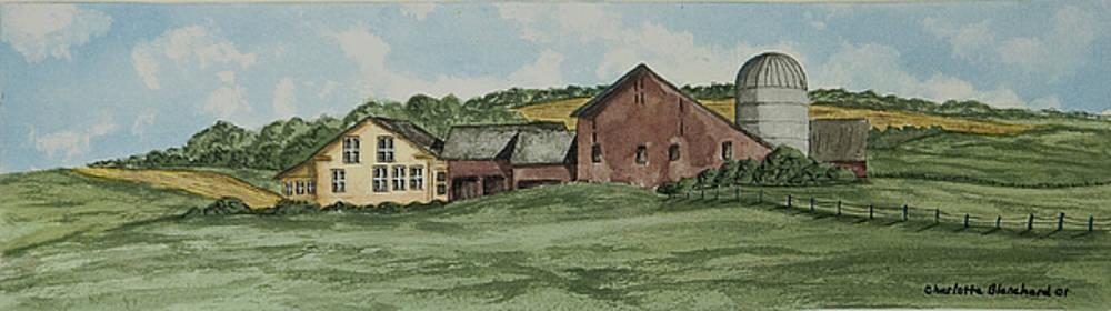 Charlotte Blanchard - Farm In Summer