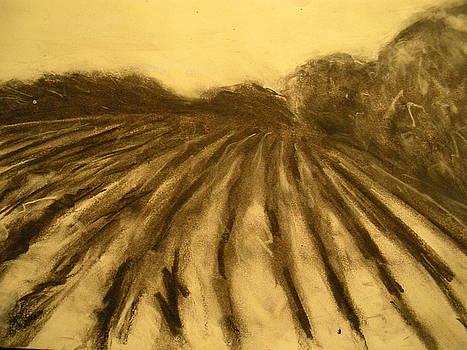 Farm land study by Jaylynn Johnson