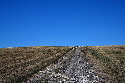 Farm Road - The Berkshires by Geoffrey Coelho
