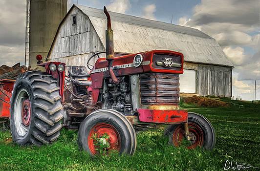 Garvin Hunter - Farm Scene - Painting