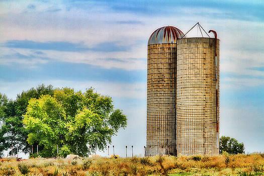 Farm - Silo - Concrete Stave Silos by Barry Jones