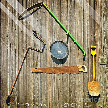 Farm Tools  by L Wright