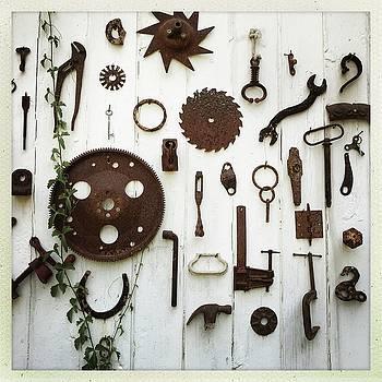 Farm tools by Sharon Green