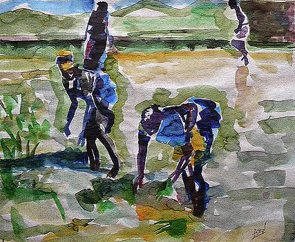 Farm Workers by Abin Raj