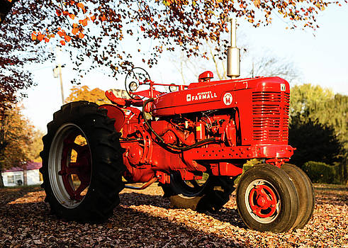 Farmall In The Fall by Seth Solesbee