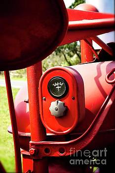 Farmall Tractor - Crank Up those amps #778 by Ella Kaye Dickey