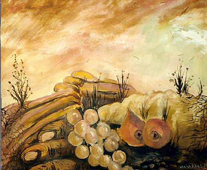 Farmer s hand by Art Hrasarkos