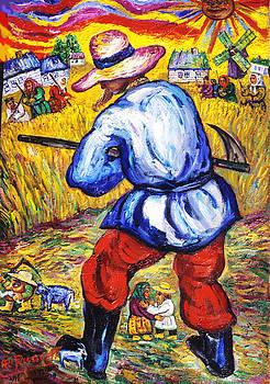 Ari Roussimoff - Farmer Working The Fields