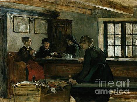 Farmers kitchen by Harriet Backer