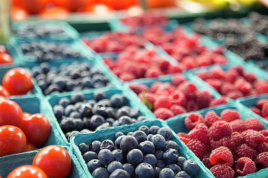 Farmer's Market Berries by Stephanie McDowell