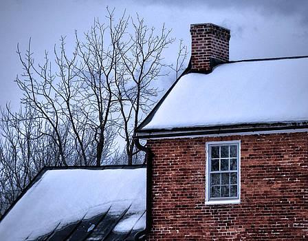 Farmhouse Window by Robert Geary