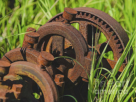 Farming Rusty Gold by JRP Photography